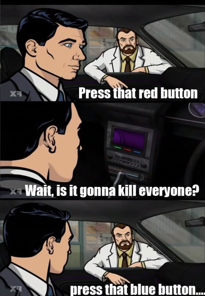 Press that red button