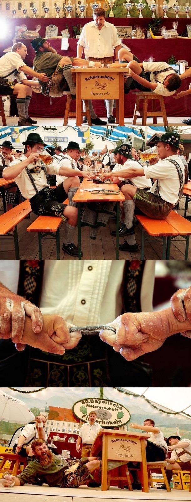 Bavarian Finger Wrestling