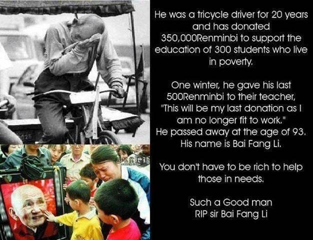 He deserves a nobel prize