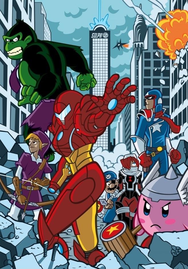 Super Avengers Bros!