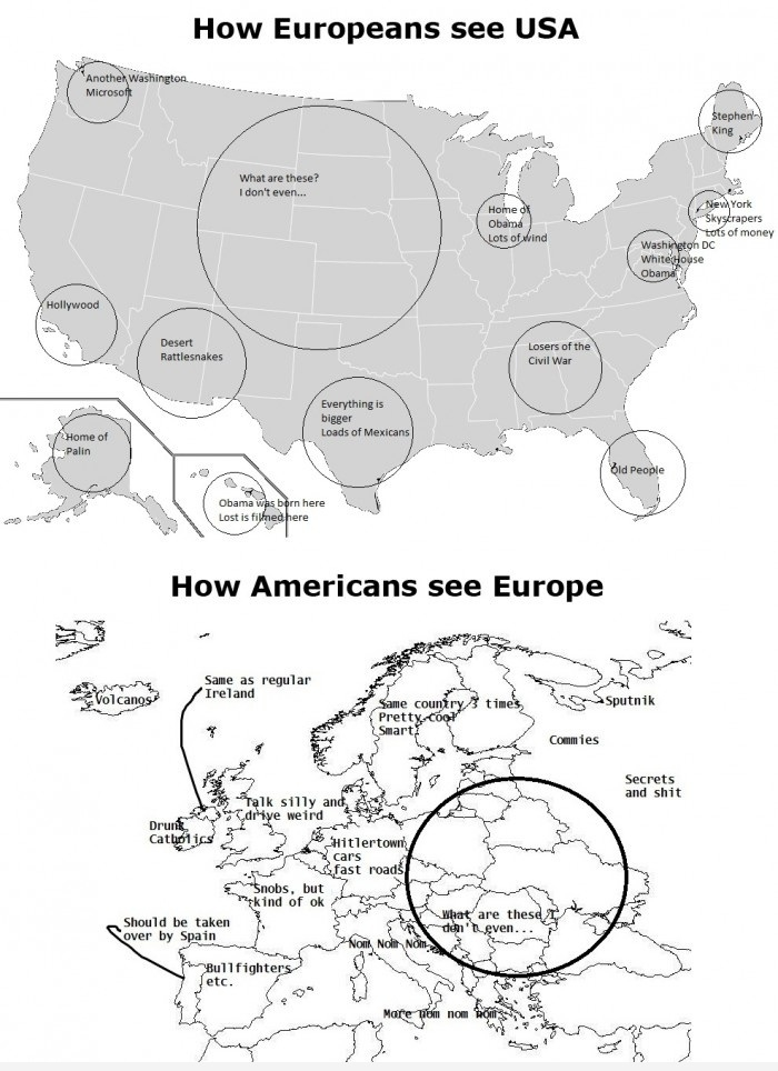 Europeans and American