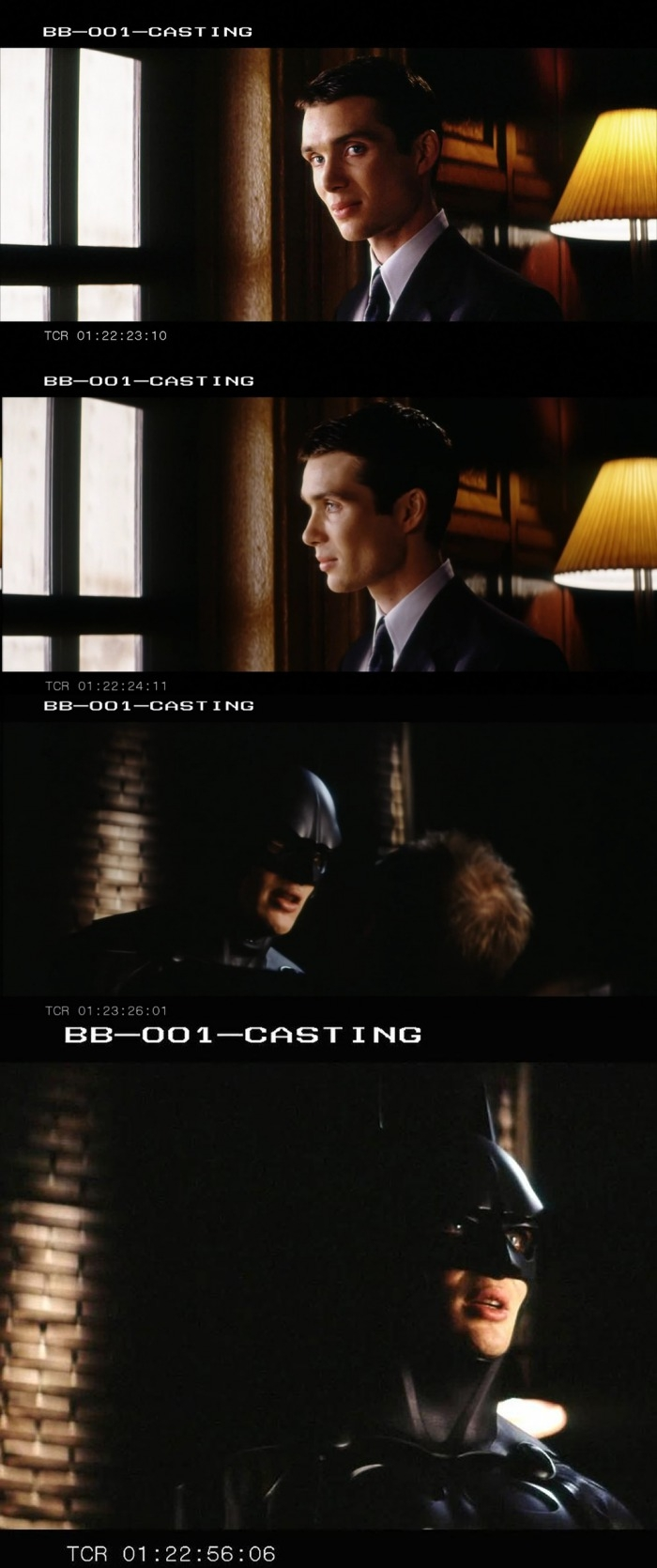 Cillian as Batman