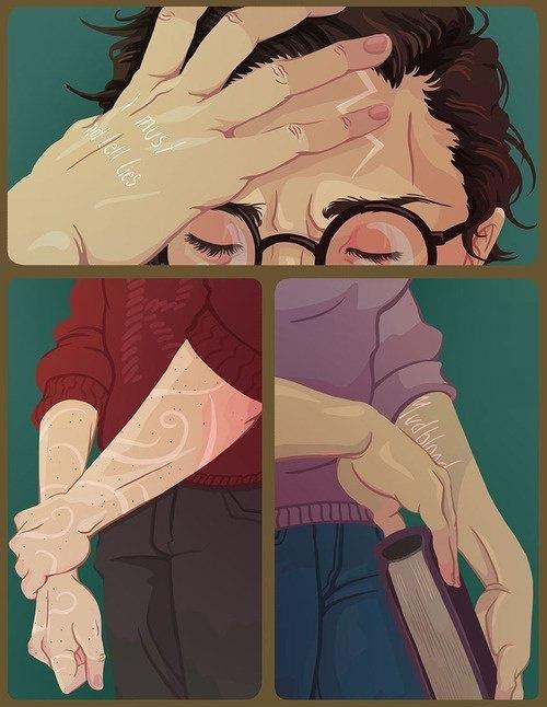 The Trio's Scars