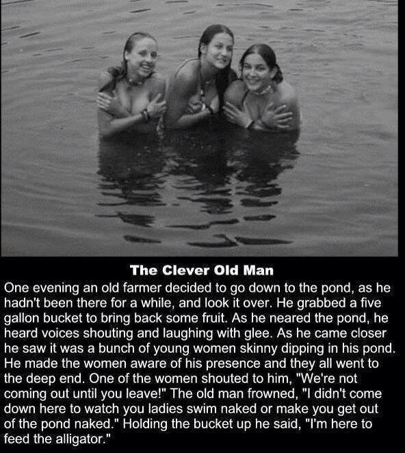 The clever old man