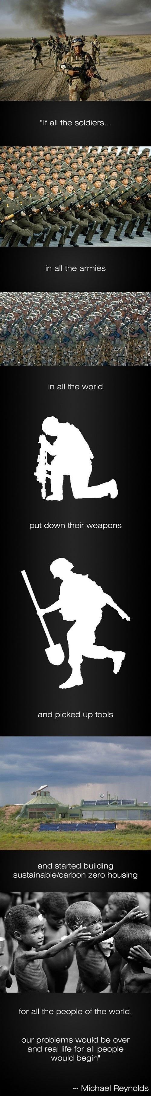 If all the soldiers..