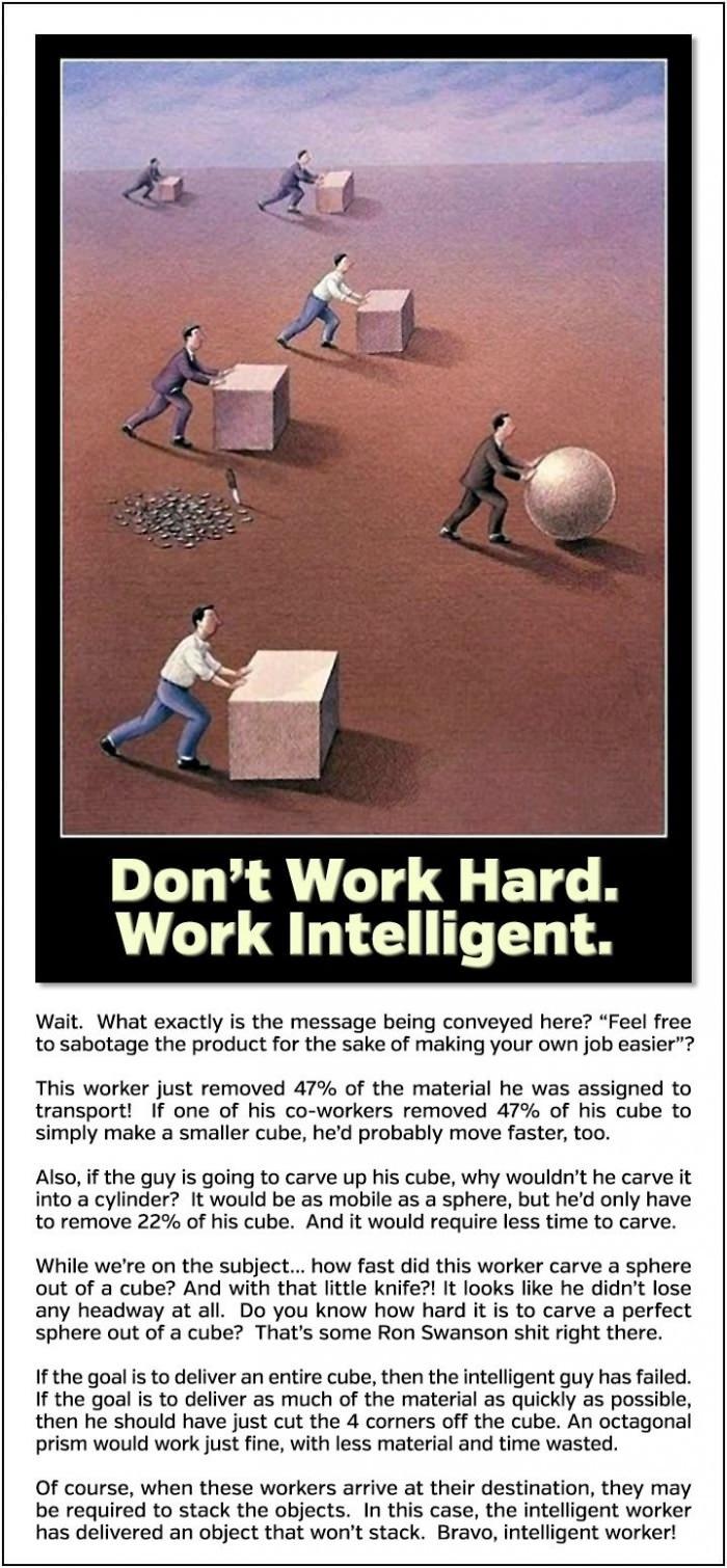 Work intelligent