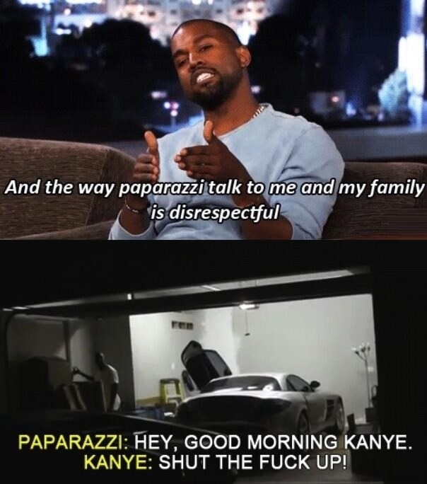 I see Kanye, I see..