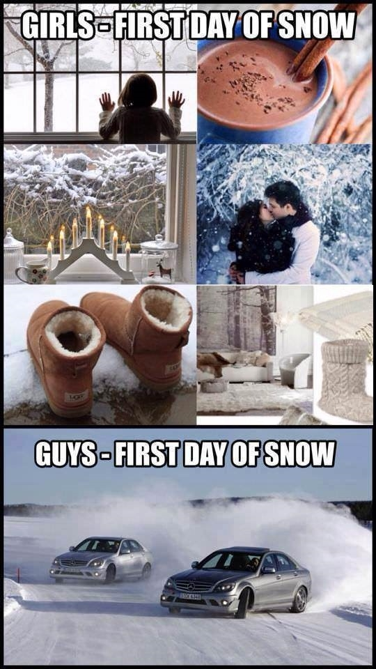 Winter: Boy vs Girls