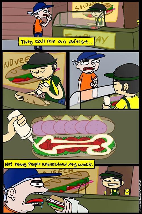 Sandwich artist secrets