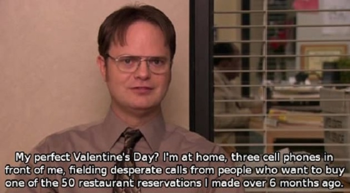 A perfect Valentine's day