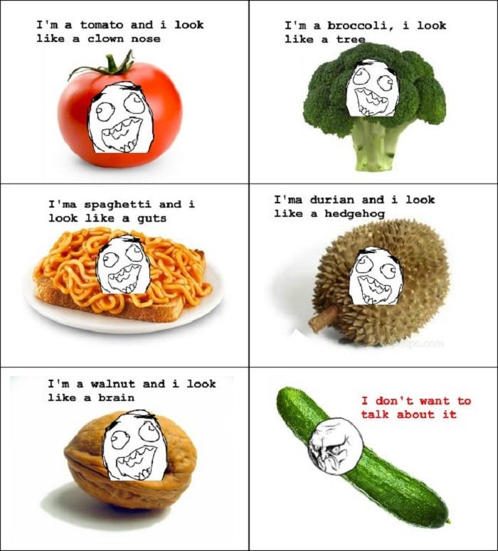Fruits & veg rage