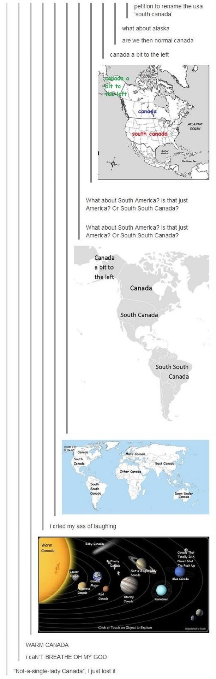 Canada is taking over