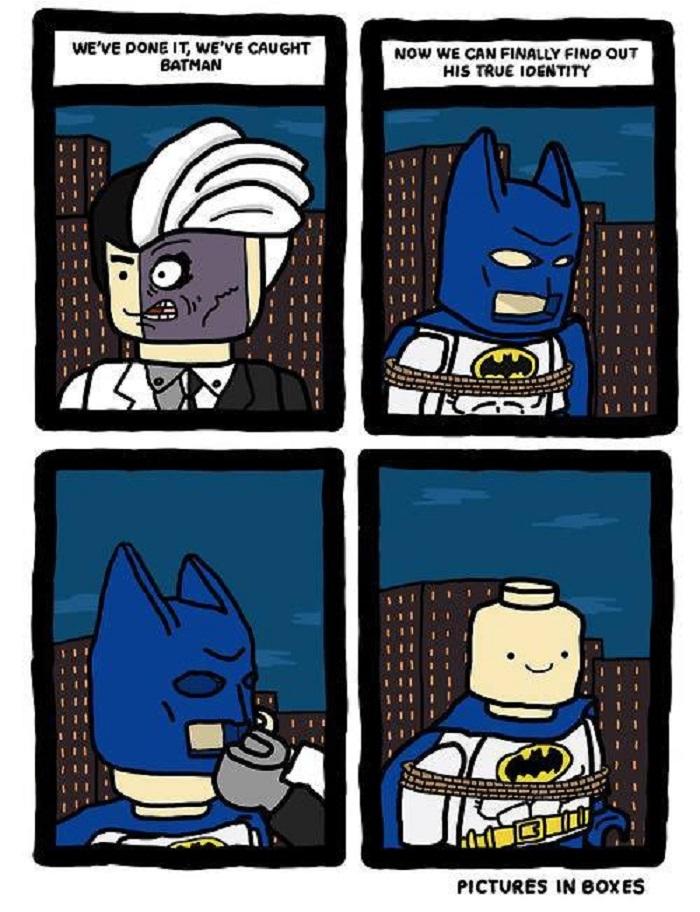 Damn it, Batman