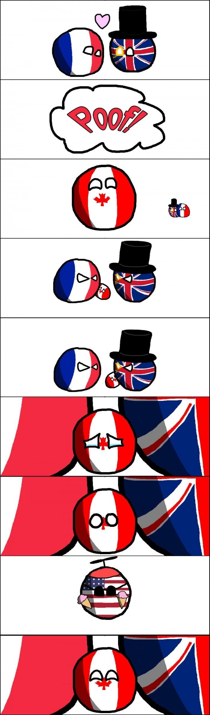 Canada had a rough childhood