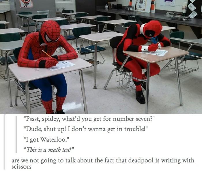 Dammit Deadpool!