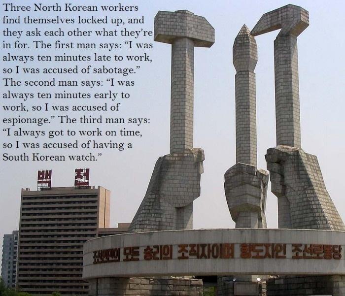 North Korean joke
