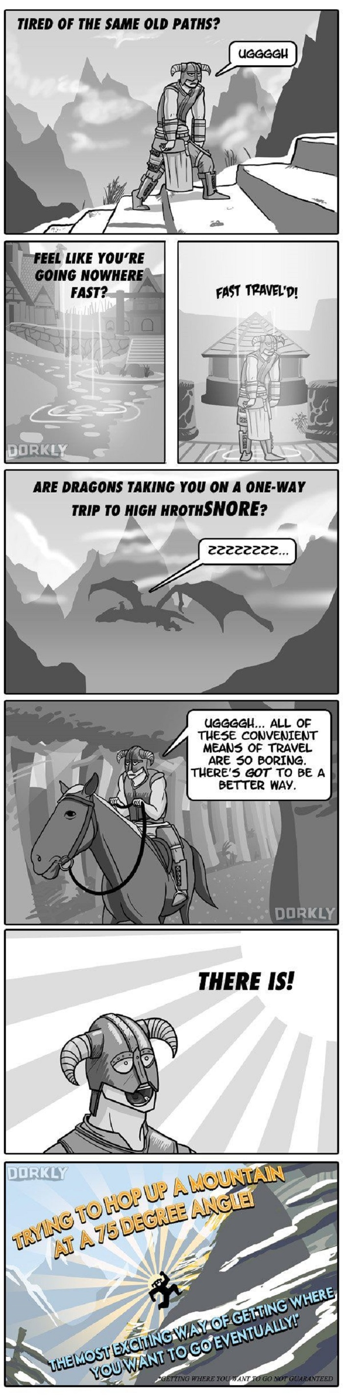 How to actually play skyrim