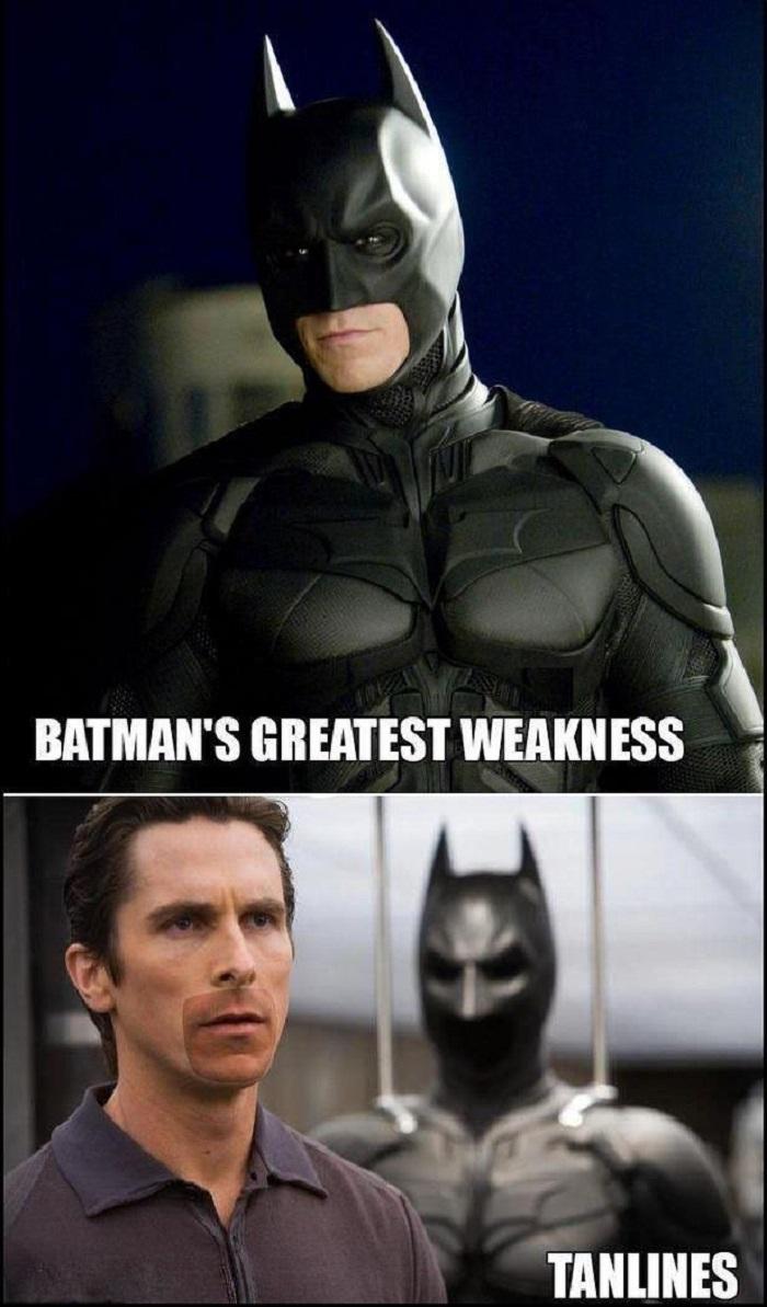Batman's only weakness