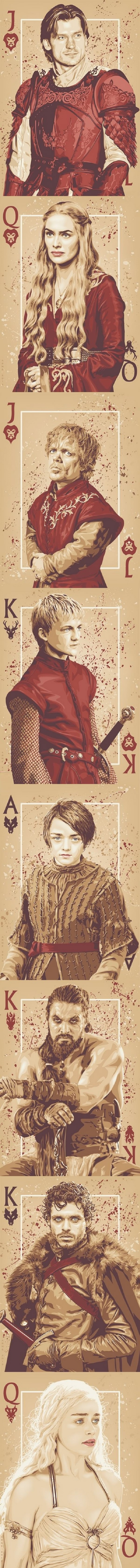 Game of Throne cards