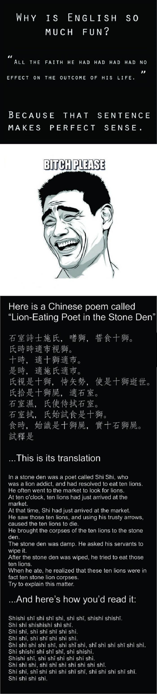 Chinese homophones