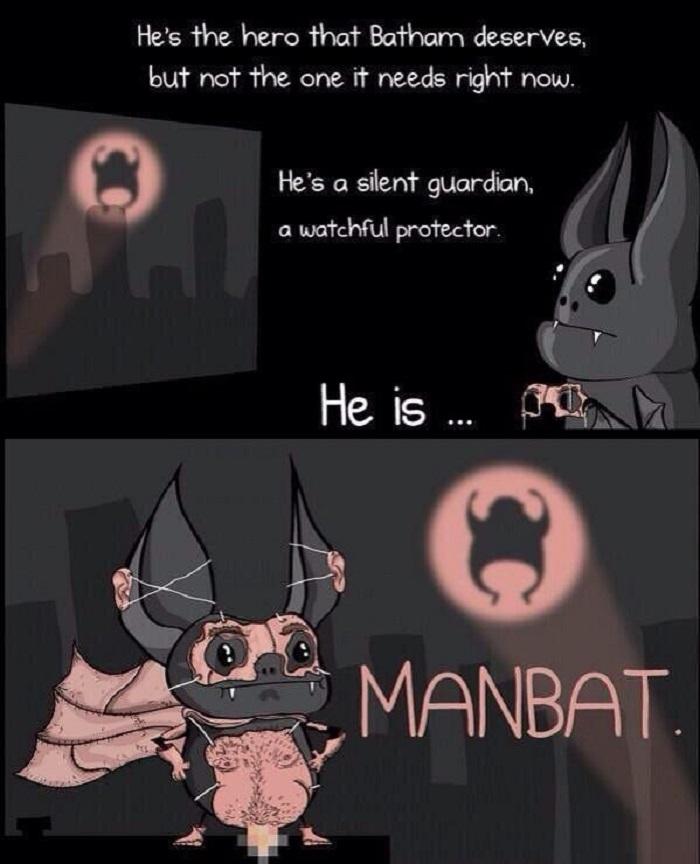 I present- ManBat!
