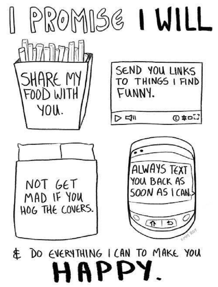 I will make you happy