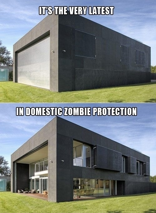 Zombie Protection House