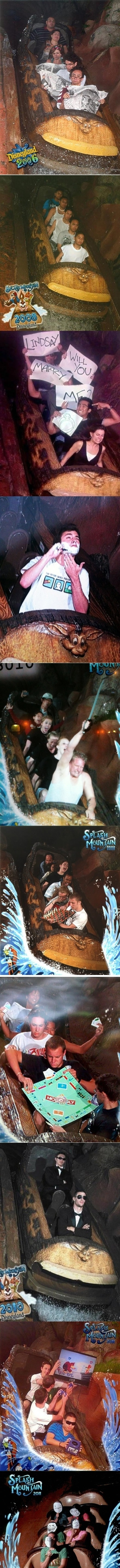 Disneyland's Splash Mountain
