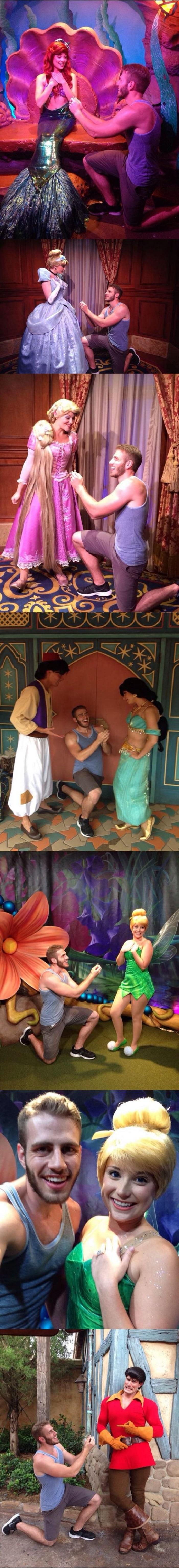 Proposing to princesses