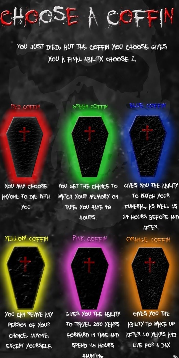 Choose your coffin wisely