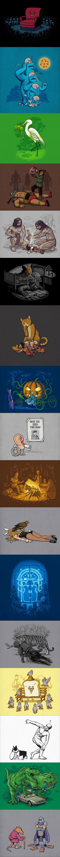 Cartoons by Ben Chen