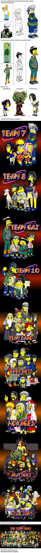 Naruto x Simpsons