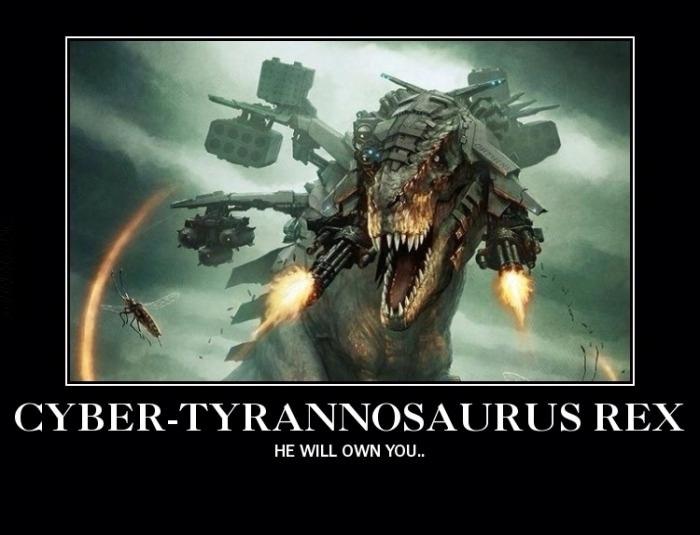 Cyber t-rex