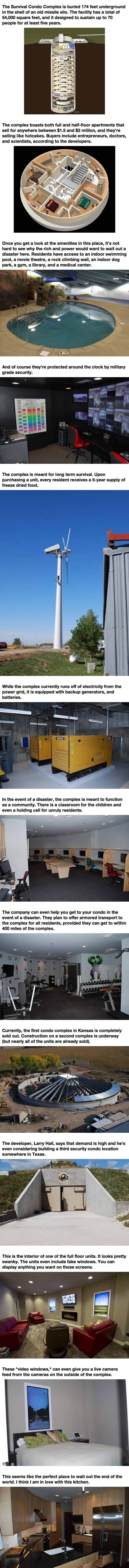 Disaster-proof condos