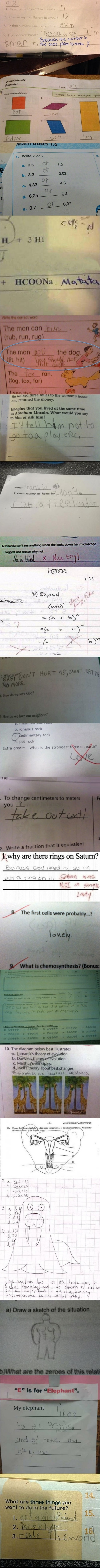 Smarta** exam answers