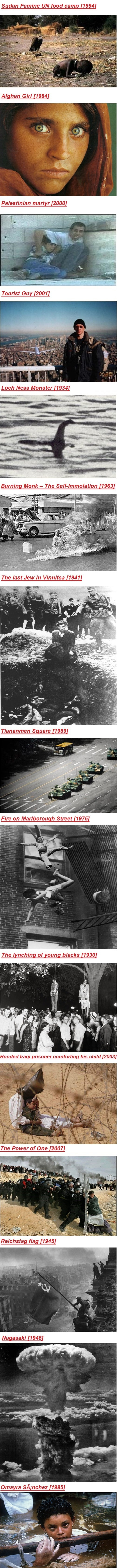 Famous photos in history