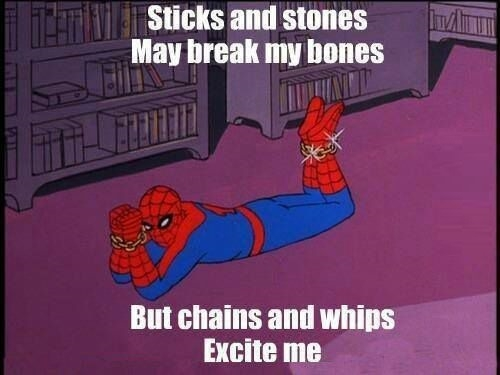 Spidey is at it again