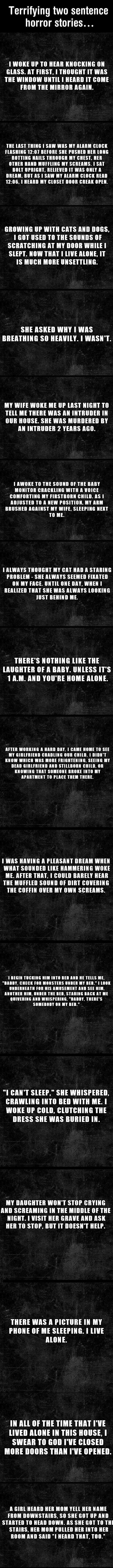 Short terror stories