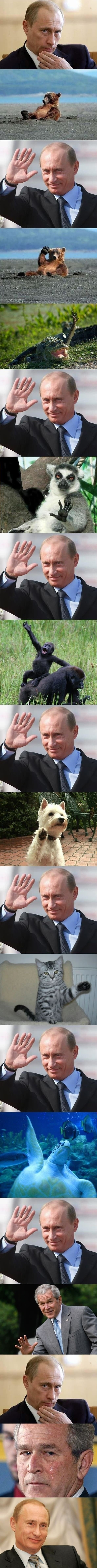 Friendly Putin
