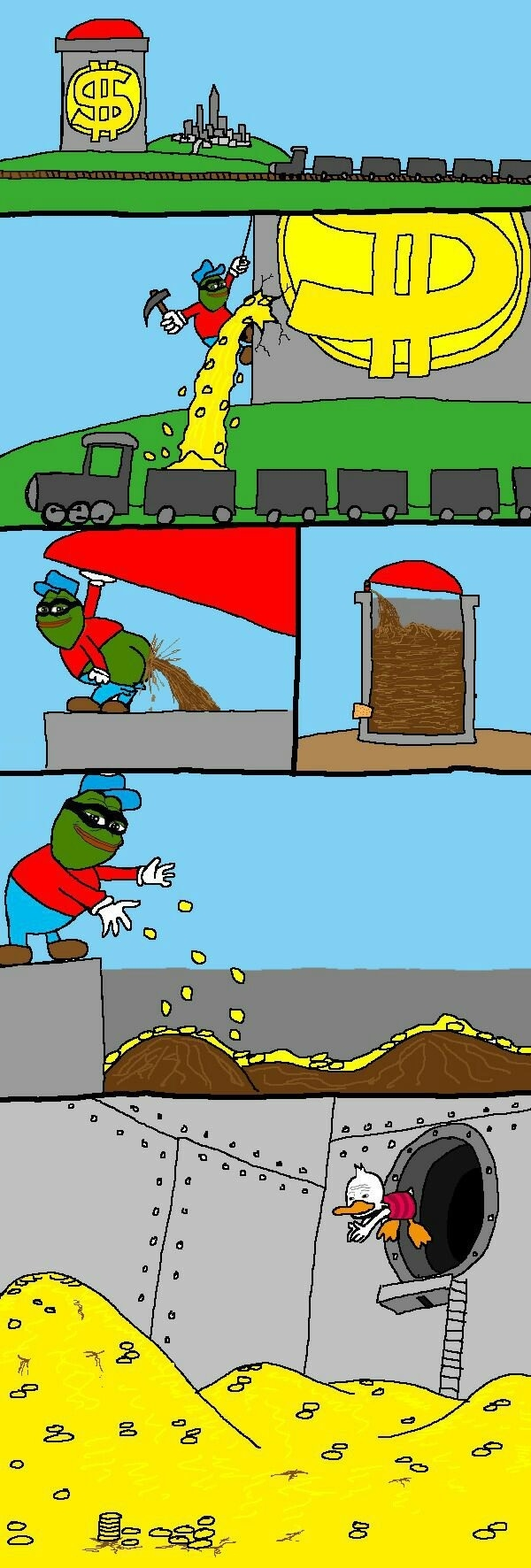 Y u do dis pepe?
