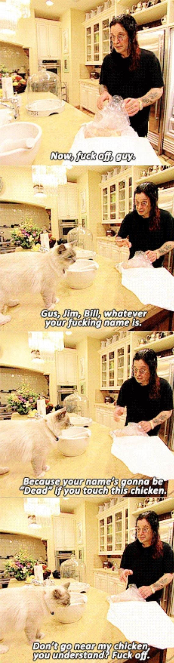 The Osbournes was hilarious