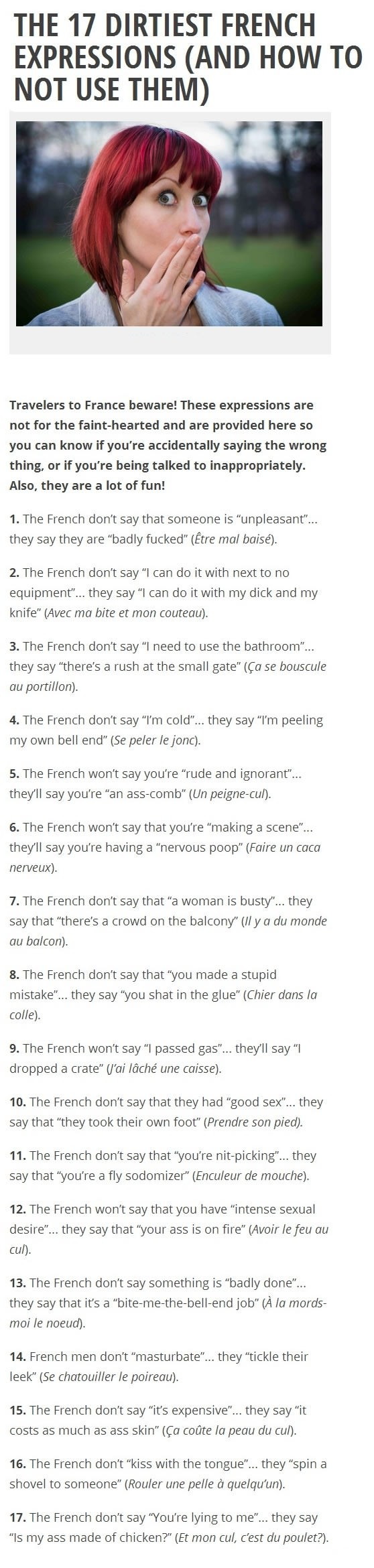 Most romantic language