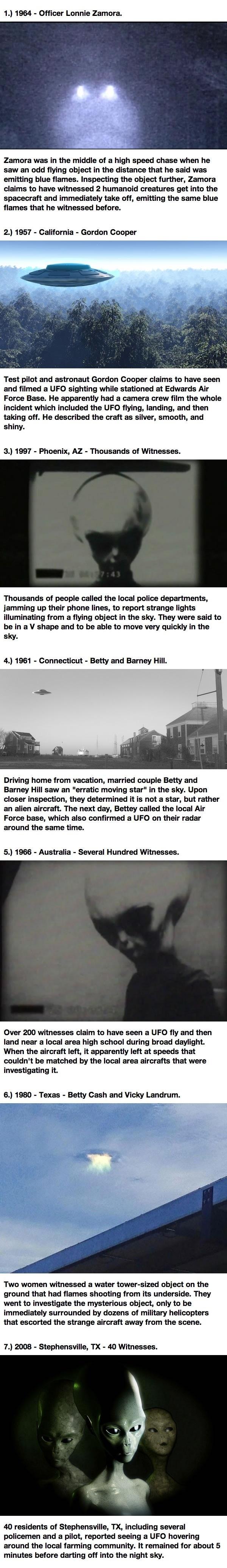 Alien encounter stories