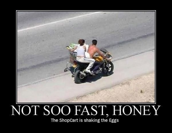 Not so fast!