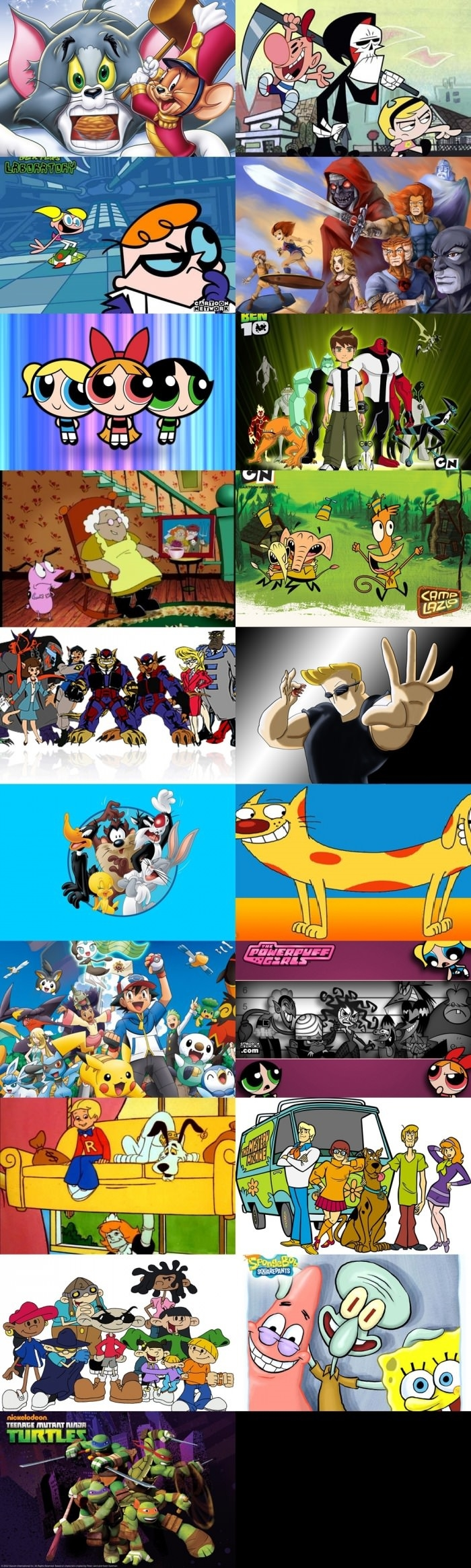 Best childhood cartoons