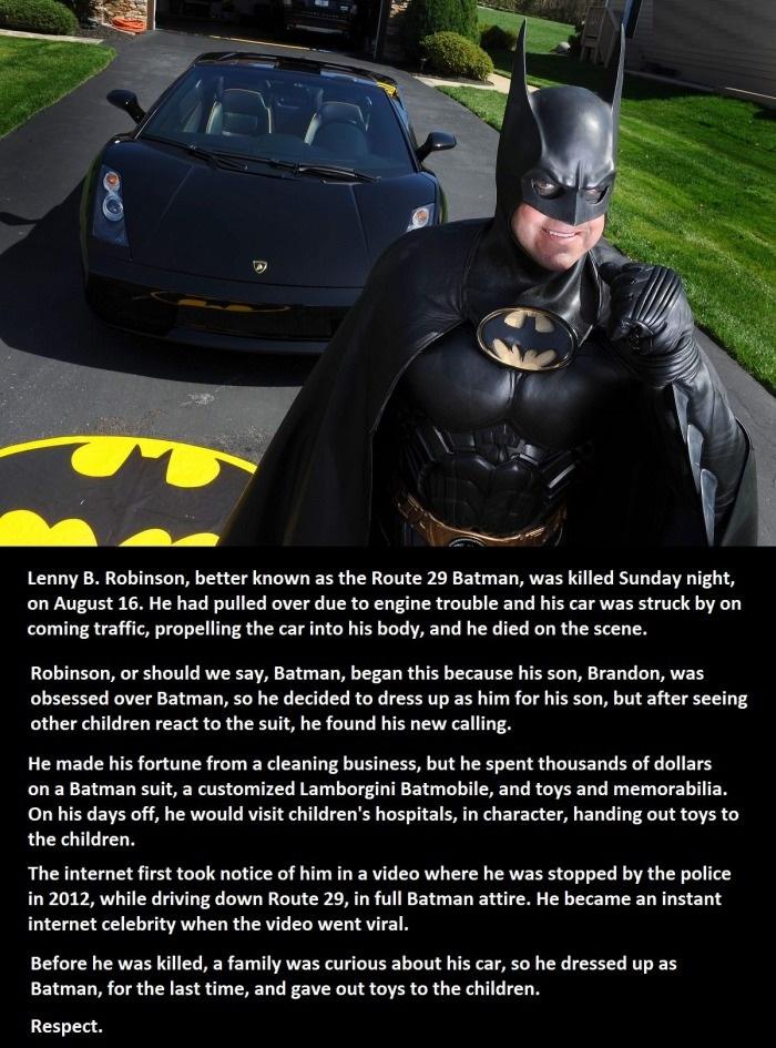 RIP Route 29 Batman