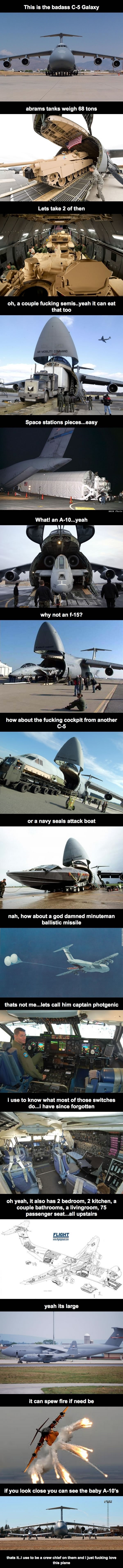 How big planes are
