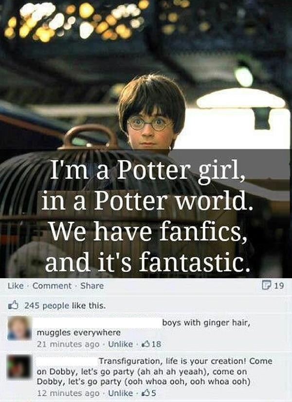 I'm a Potter girl..