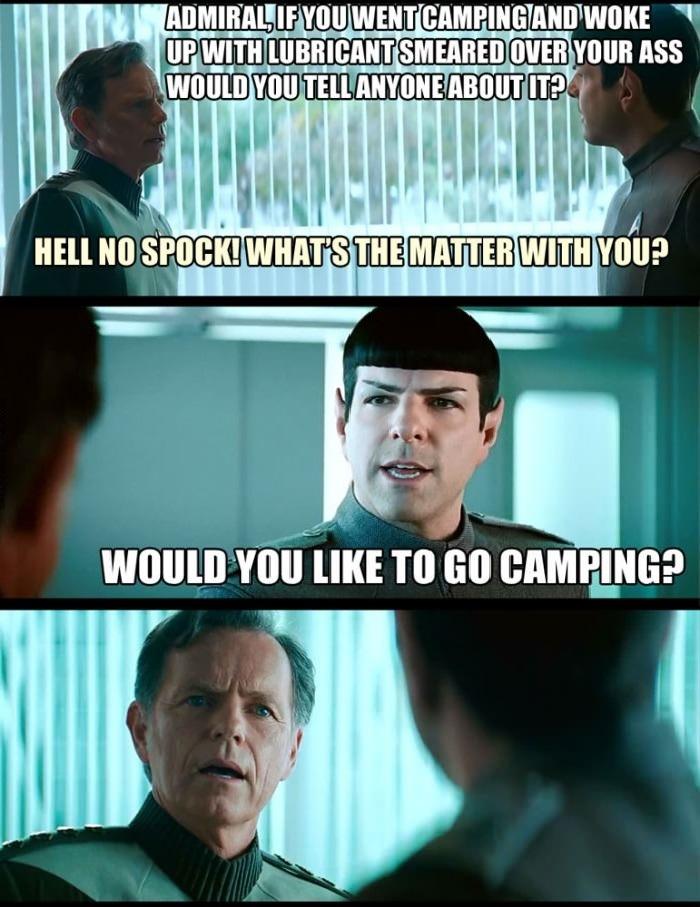 Troll level Spock