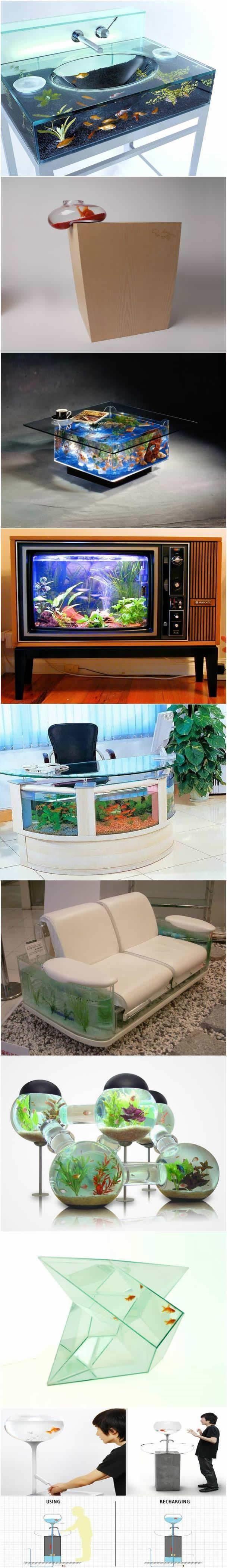 Creative aquariums